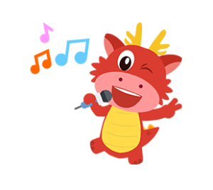 dragon sing icon