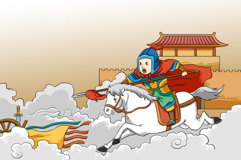 Yue Fei - a Chinese patriot and military general